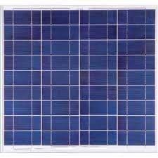 Painel Solar Fotovoltaico Yingli – 55Wp YL055P 17b 2/5