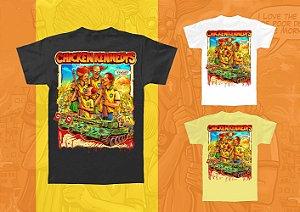 Camiseta - Chicken Kennedys