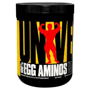 100% Egg Aminos 250cps - Universal Nutrition