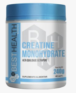 Creatine Monohidrata 240g - Best Health Nutrition