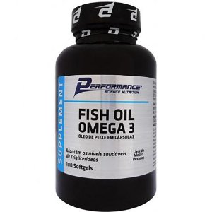Fish Oil Ômega 3 100cps - Performance Nutrition