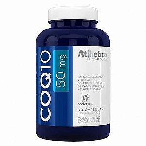 Coenzima Q-10/COQ10 50mg 90cps - Atlhetica Nutrition