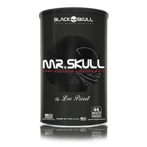 Mr Skull 44 Packs - Black Skull