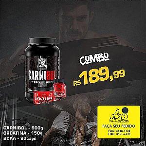 COMBO: Carnibol 907g + Creatine 150g + Bcaa 90cps