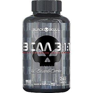 Bcaa 3:1:1 240cps - Black Skull