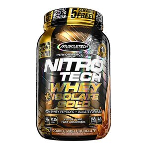 Nitro Tech Whey Isolate Gold 907g - Muscletech