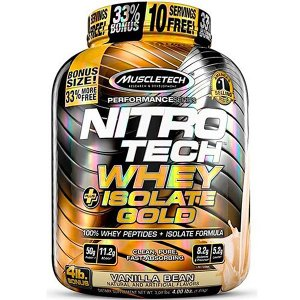 Nitro Tech Whey Isolate Gold 1800g - Muscletech
