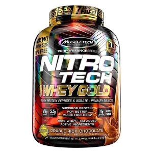 Nitro Tech Whey Gold 2510g - Muscletech
