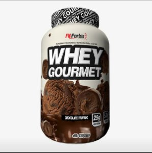 Whey Gourmet 900g - Fn Forbis Nutrition