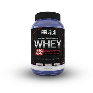 Whey 100% Pure 900g - Bluster Nutrition