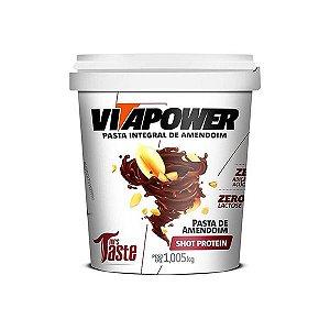 Pasta de Amendoim Shot Protein 1,05kg - VitaPower