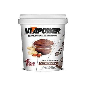 Pasta de Amendoim Cacau Protein 1,05kg - VitaPower