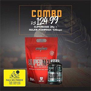 COMBO: Super Mass 3kg + Major Pumpmax GH 120cps