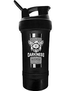 Coqueteleira 3 doses 450ml (Darkness) - Integral Médica