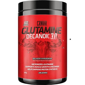 Glutamine Decanoic 3.0 300g - Crnvr Nutrition