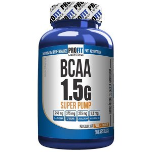 Bcaa 1.5g Super Pump 60cps - Profit Nutrition