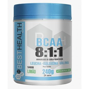 Bcaa 8:1:1 240g - Best Health Nutrition