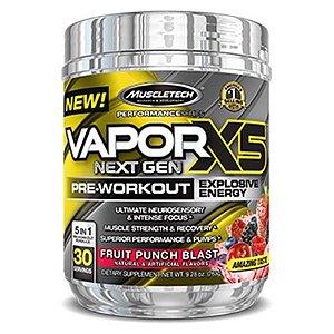 Vapor X5 Next Gen 30 Doses - Muscletech