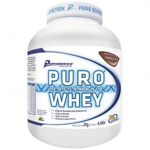 Puro Whey (Morango) 2kg - Performance Nutrition