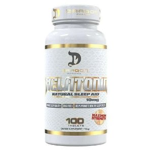 Melatonin 10mg 100cps - Dragon Pharma