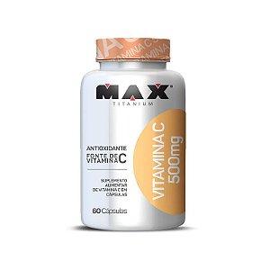 Vitamina C 500mg 60cps - MaxTitanium