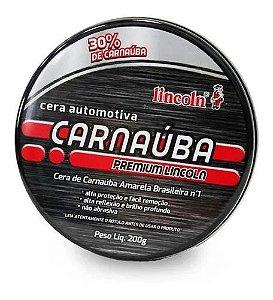 Cera Carnaúba Premium 200g Lincoln