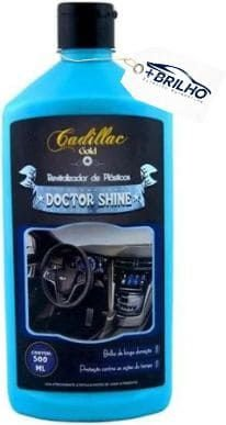 Doctor Shine Revitalizador de Plásticos 500ML Cadillac