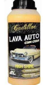 Lava Autos High Shine com Cera 2L Cadillac