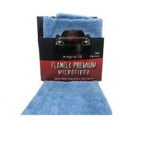 Flanela Premium Microfibra Azul 40x40cm Autoamerica
