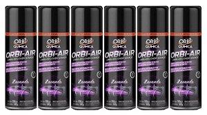 Kit Higienizador de Ar Lavanda 6 Unidaes Orbi Air