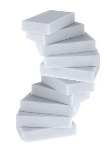 Kit Esponja de Melamina Detailer 10 unidades