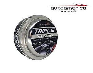 Cera de Carnaúba Triple wax 300gr Autoamerica