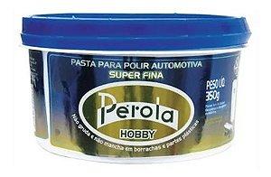 Massa de Polir Hobby Base Água 350g Pérola