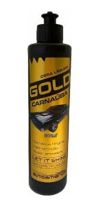 Cera de Carnauba Liquida Gold 300ml Auto America