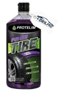 Power Tire Pneu Pretinho 500ml Protelim