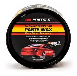 Cera de Carnaúba Perfect-It Paste Wax Super Protetora 200g 3M