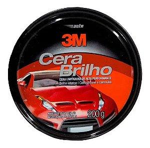 Auto Cera Brilho - Limpadora 200g 3M