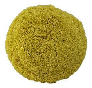 Boina de Lã Amarela 8 para Refino Kers