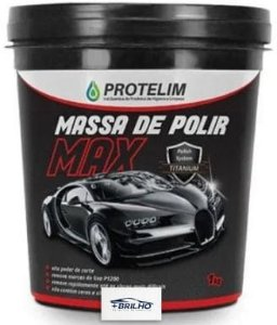Massa de Polir Max 1Kg Protelim