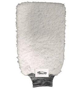Luva de Microfibra Powerful Branca Detailer