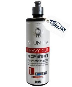 Alumina Heavy Cut 1200 Composto Polidor Corte 500ml Easytech