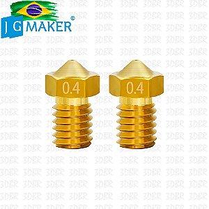Kit 5x Bicos / Nozzle JGMaker A3S / A5S / Magic 0,4mm
