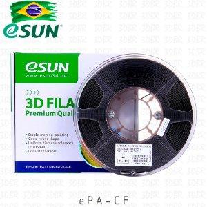 Filamento 3D eSun ePA-CF - Nylon & Fibra de Carbono
