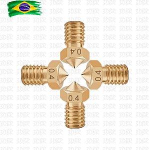 Kit 5x Bicos / Nozzle V6 - 0,4mm