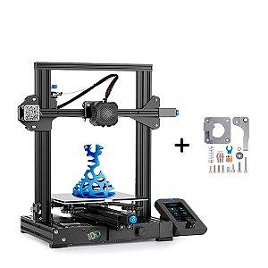 Kit Impressora Ender 3 V2 + Extrusora Metálica MK8