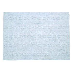 Tapete Trança Azul Soft 1,20x1,60 - Lorena Canals