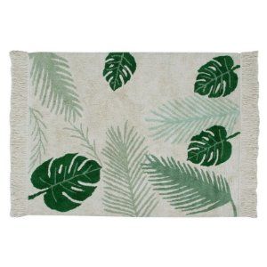 Tapete Tropical Verde 1,40x2,00 Lorena Canals