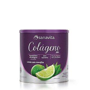 Colágeno Hidrolisado Skin Limão com Clorofila Sanavita 300g
