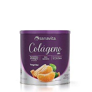 Colágeno Hidrolisado Skin Tangerina Sanavita 300g