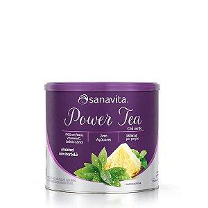 Power Tea Mate Verde & Matcha Abacaxi com Hortelã Sanavita 200g